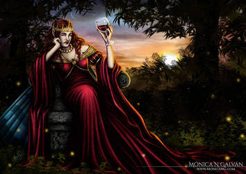 Farian, Queen of the Sidhe - EV Frustration