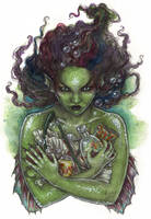 Eco Mermaid by liselotte-eriksson