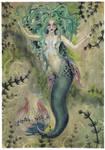 A Somewhat Gothly Mermaid