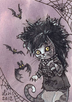 Deathrock Cat