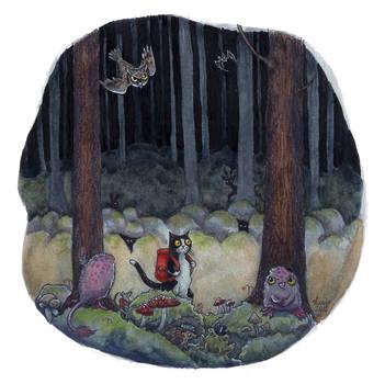 Dark Woods by liselotte-eriksson