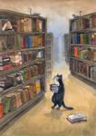 Kitty Librarian