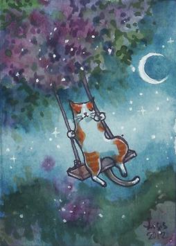 Moonlight Swing by liselotte-eriksson