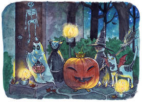 Trick or Treat! by liselotte-eriksson
