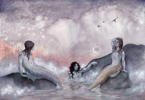 Moonrise by liselotte-eriksson