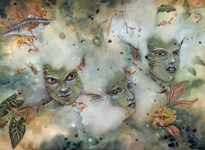 Murky Waters by liselotte-eriksson