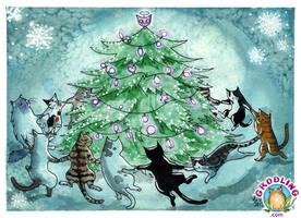 Catmas Tree by liselotte-eriksson