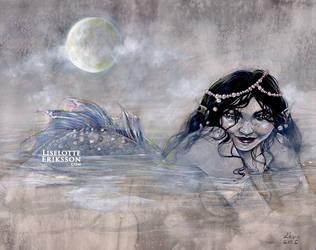 Moon, Mist, Mermaid by liselotte-eriksson