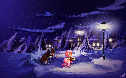 Night New Year by freeedon