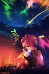 Sad melody by freeedon