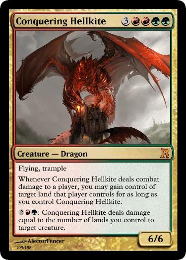 Conquering Hellkite by RowanKeltizar on DeviantArt Planeswalker Activated Abilities