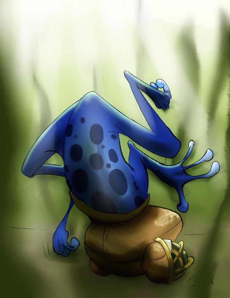 Frog by jtraveller