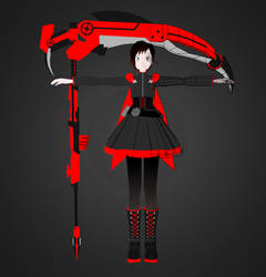 Ruby Rose and Crescent Rose