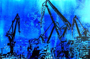 Shipyard by pierzyna