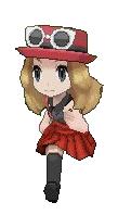 pokemon x y female trainer sprite front by Jenske05 on