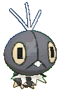 pokemon scatterbug 3d sprite by Jenske05