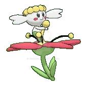 pokemon flabebe 3d sprite by Jenske05