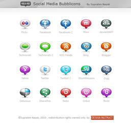 FREE: Social Media Bubblicons