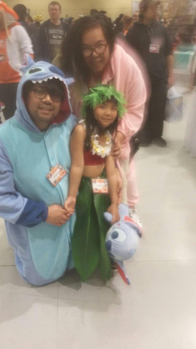 Stitch, Angel, and Lilo by Crazywolfgirl111