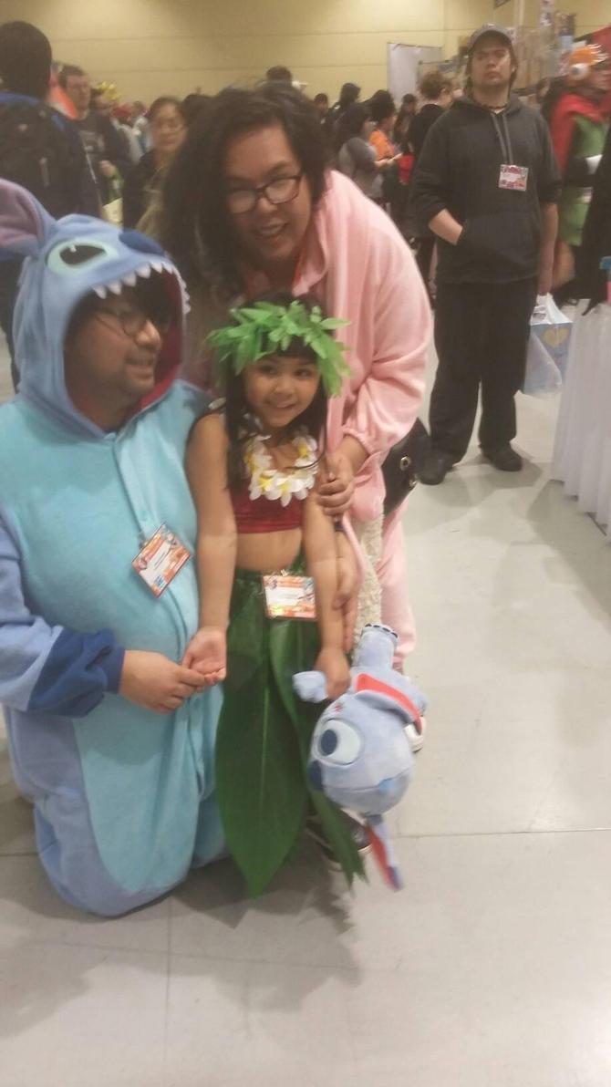 Stitch, Angel, and Lilo 2 by Crazywolfgirl111