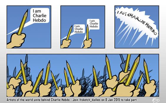 I am Charlie Hebdo by matt-bryan
