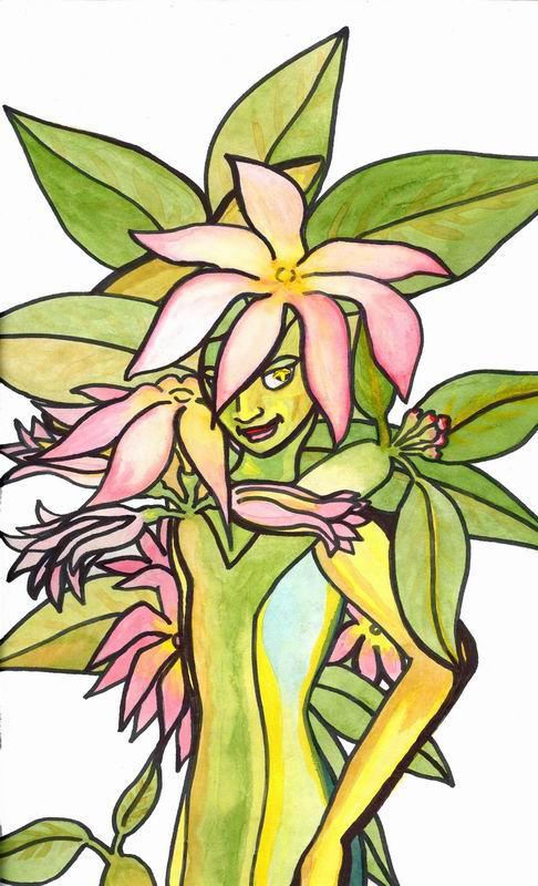 frangipani by mander