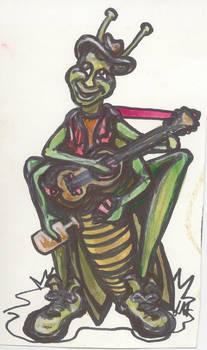 Blues Grasshopper
