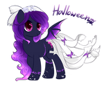 Halloween Ghoul PONY ADOPTABLE [CLOSED] by monnychanArt