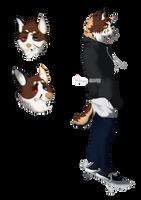 AUCTION Canine design#1 [OPEN] by monnychanArt