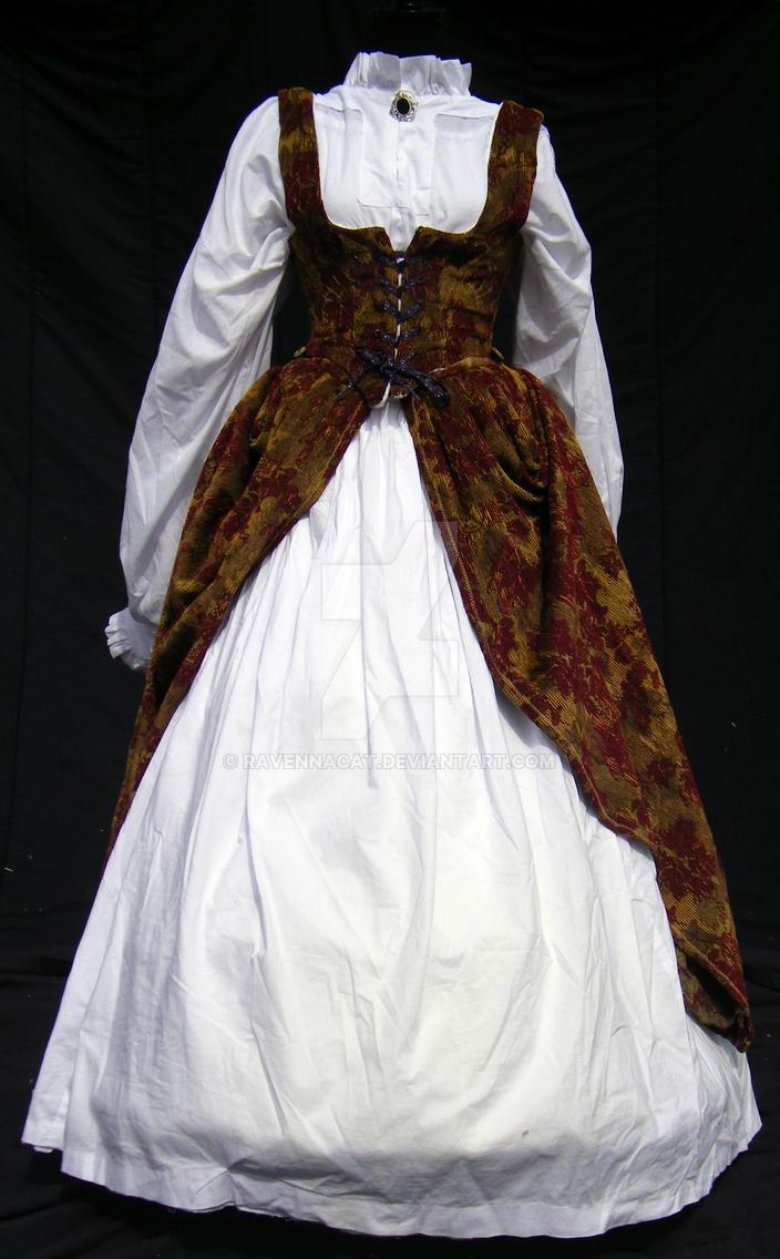 951cc5c366 Irish Renaissance Court Gown by ravennacat on DeviantArt