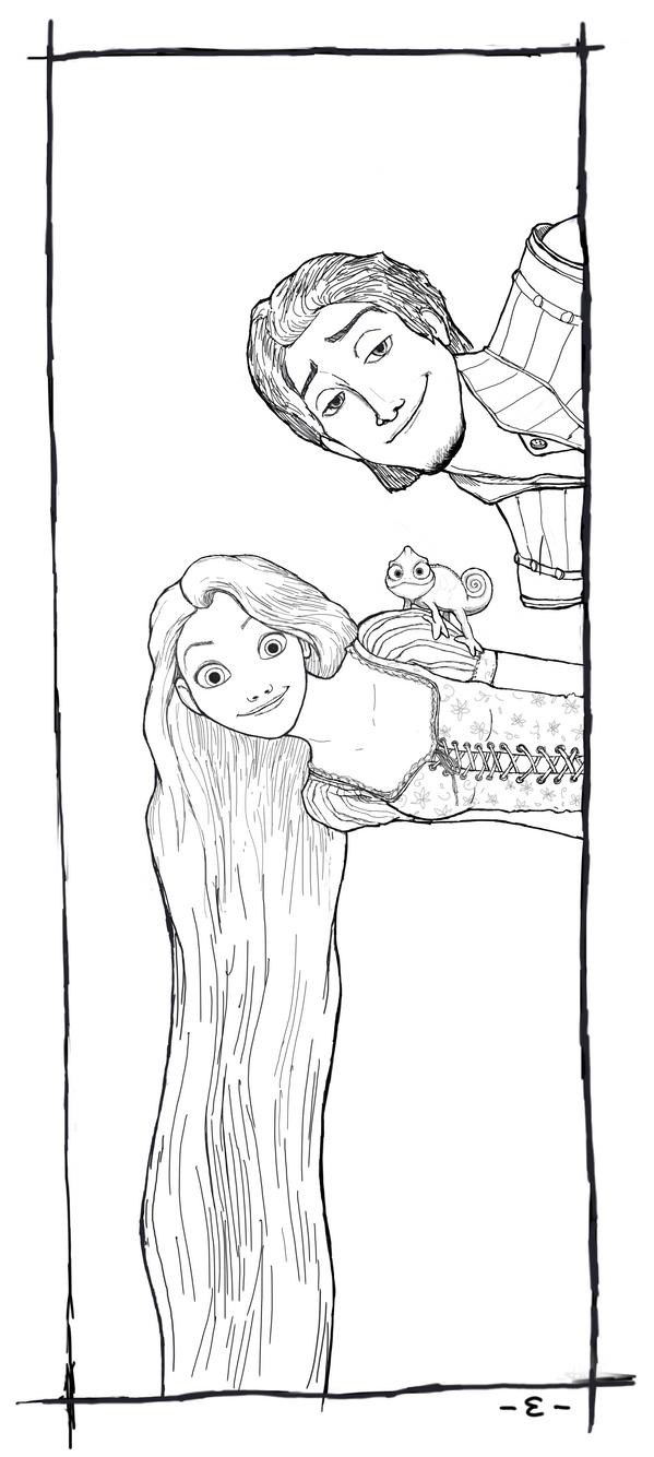 Rapunzel lineart by EpsilonEridani on DeviantArt