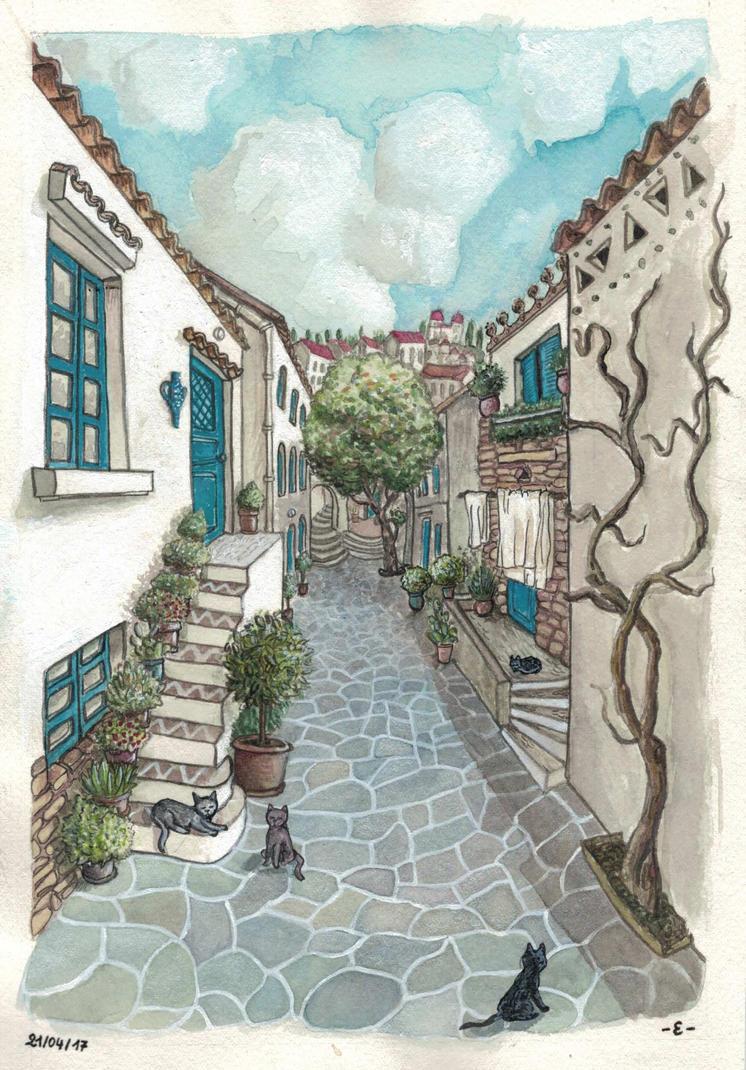 [Greece] Little street by EpsilonEridani