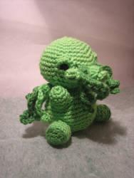 Chibi Chtulhu Crochet by EpsilonEridani