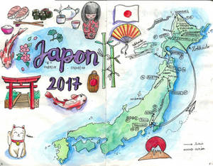 [Japan 2017] A map of Japan