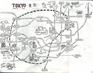 [Japan 2017] Tokyo Metro map by EpsilonEridani