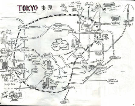 [Japan 2017] Tokyo Metro map