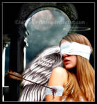 Wounded Angel by DesigningDivas
