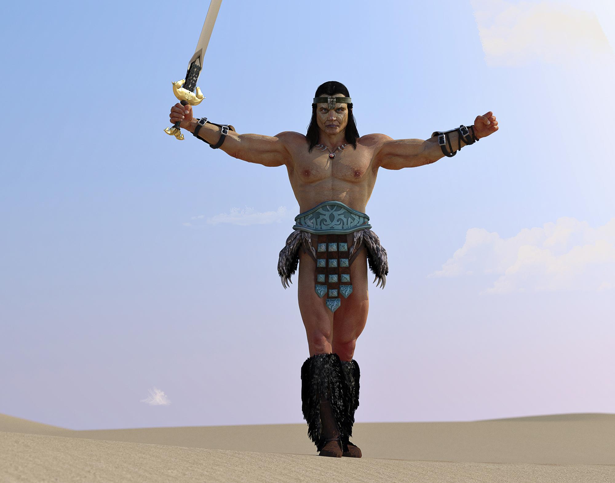 barbarian by chagadiel