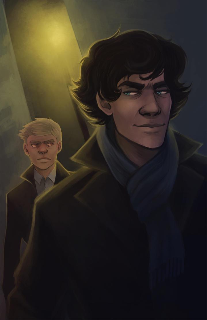 Sherlock by kaalashnikov