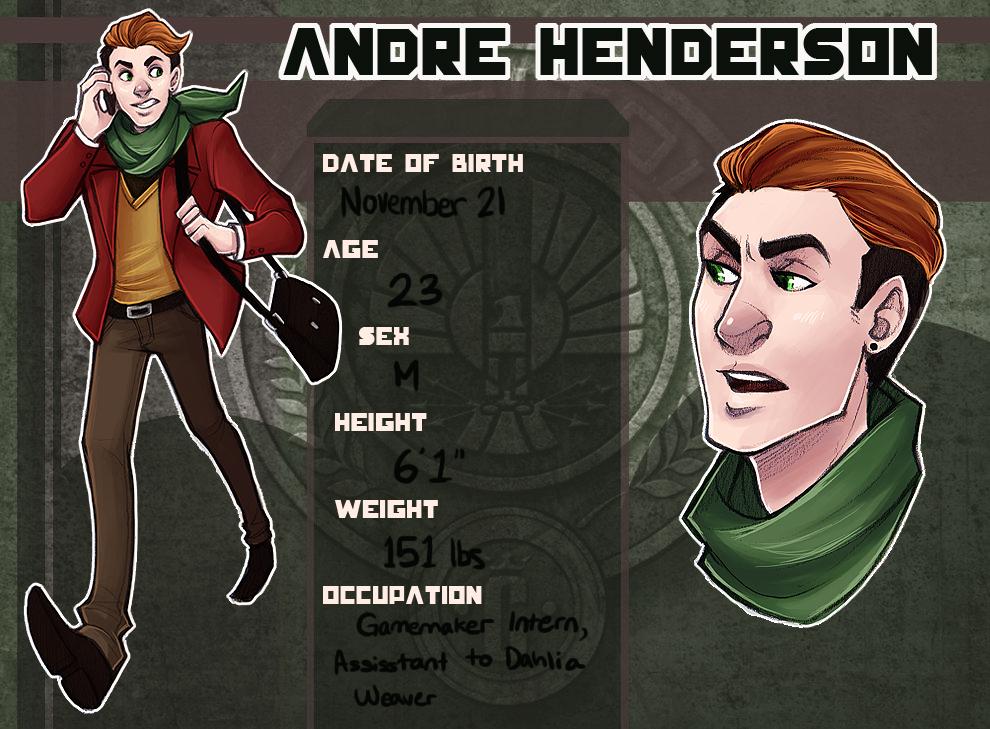 HGOCT: Andre Henderson by kaalashnikov