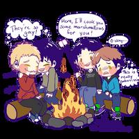 Gay Babies Camping