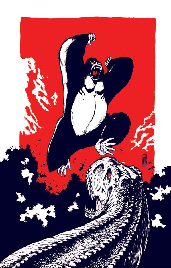 Kink Kong Solidario by Santolouco