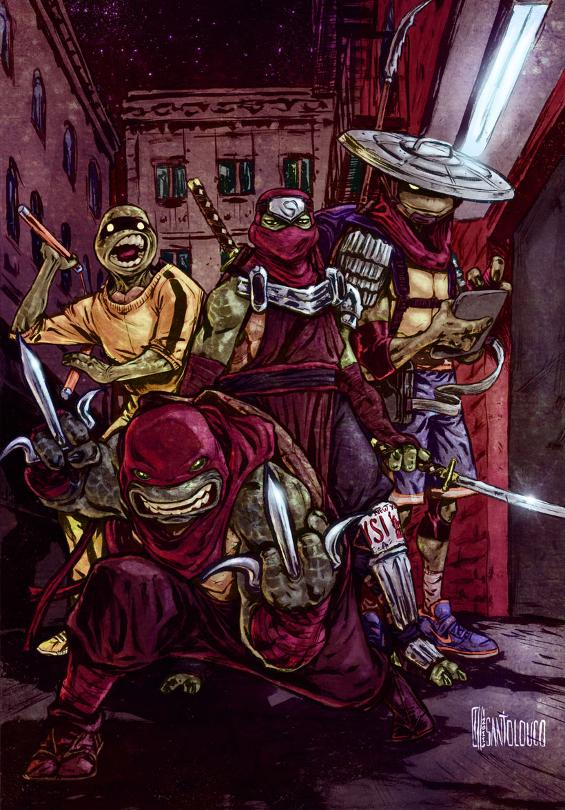 TMNT by Santolouco