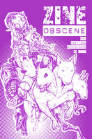 Zine Obscene_cover by Santolouco