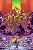 TMNT_Secret History of the Foot Clan #3_coverA by Santolouco