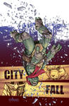 TMNT#22: City Fall_cover