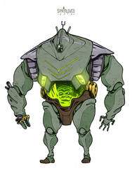 Iron Demon/Feudal Utrom_Design