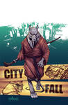 TMNT#24: City Fall_cover