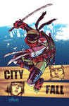 TMNT#25: City Fall_cover