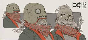 RANDOM|Intermissam|Character Design|test 0.1 by Santolouco